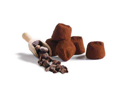Mathez choklad tryfflar kakaokross