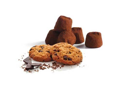 Mathez choklad tryfflar cookies