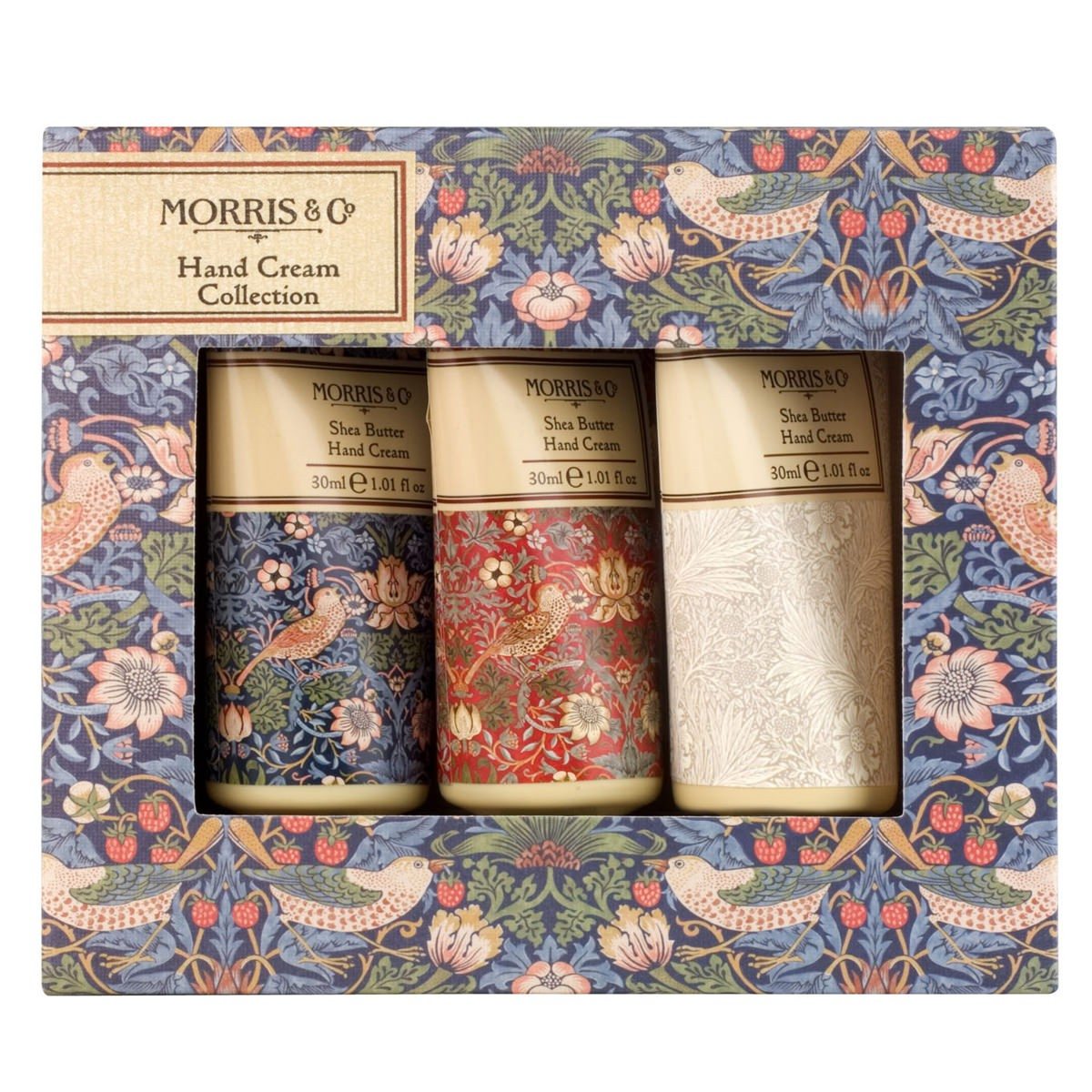 Morris strawberry thief set Mini Handcream