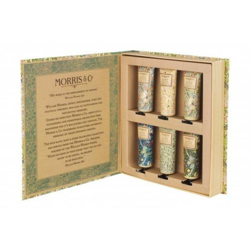 Morris golden lily hand cream library
