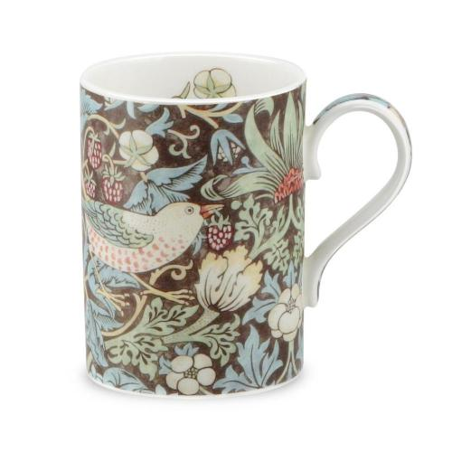 Mugg william morris strawberry thief brun