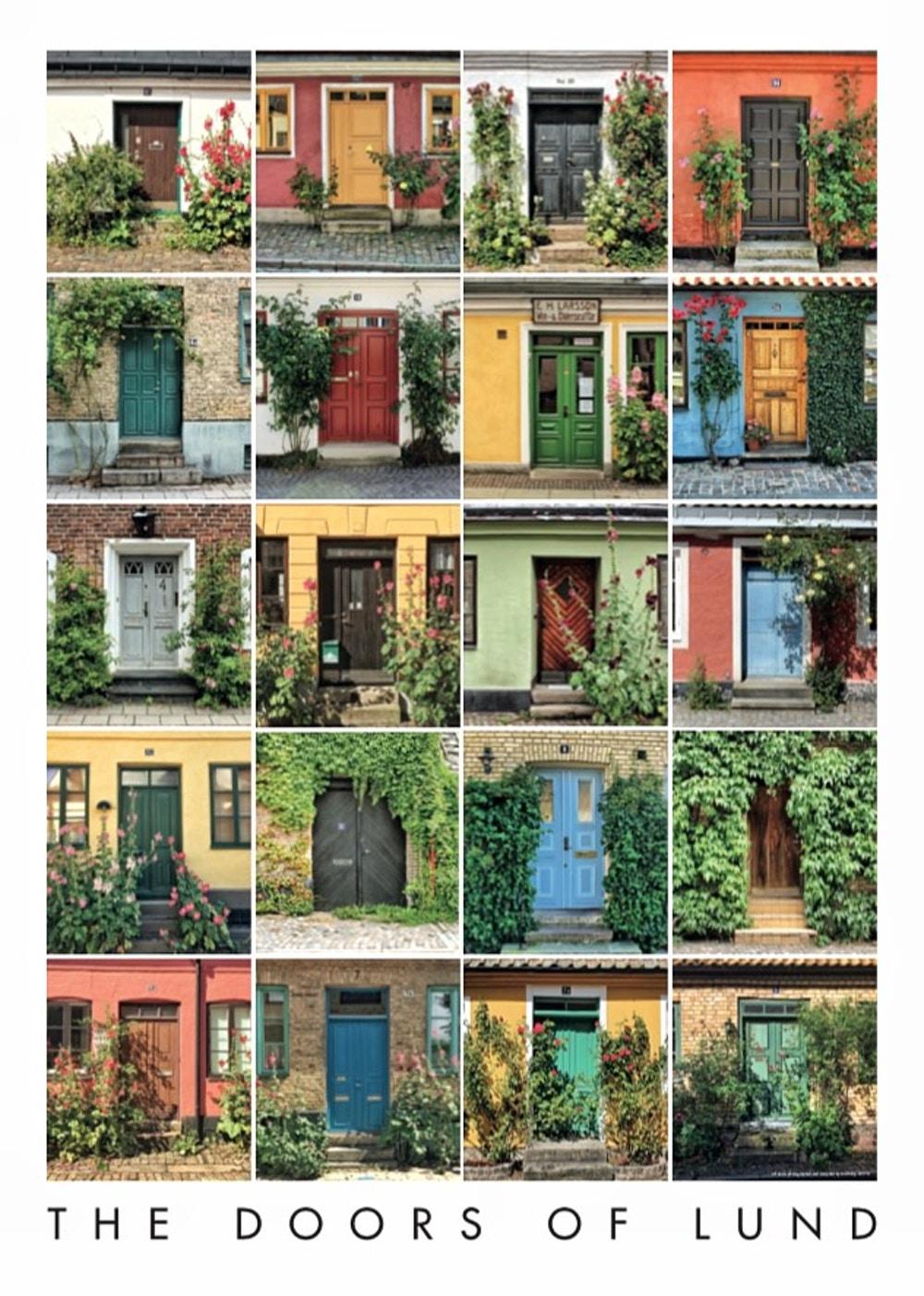Poster doors of lund