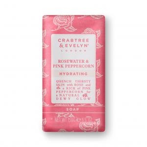 Crabtree & evelyn rosewater soap tvål fast