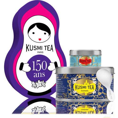 Kusmi tea matroushka doll gift set