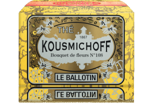 Kusmi tea les ballotines Bouquet of flowers