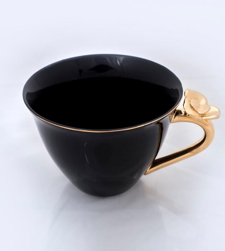 Kerstin tillberg kopp ros guld svart