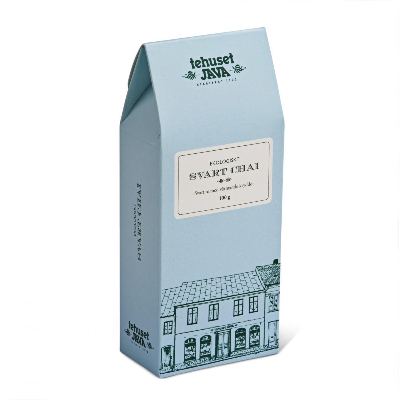 ekologiskt svart chai presentförpackad