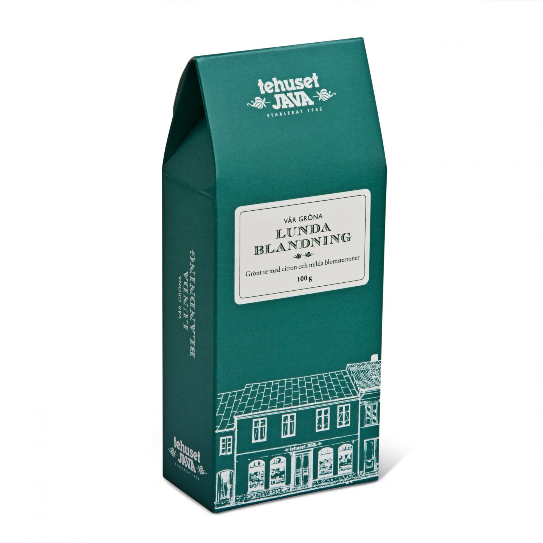 Grön Lundablandning tm presentförpackad
