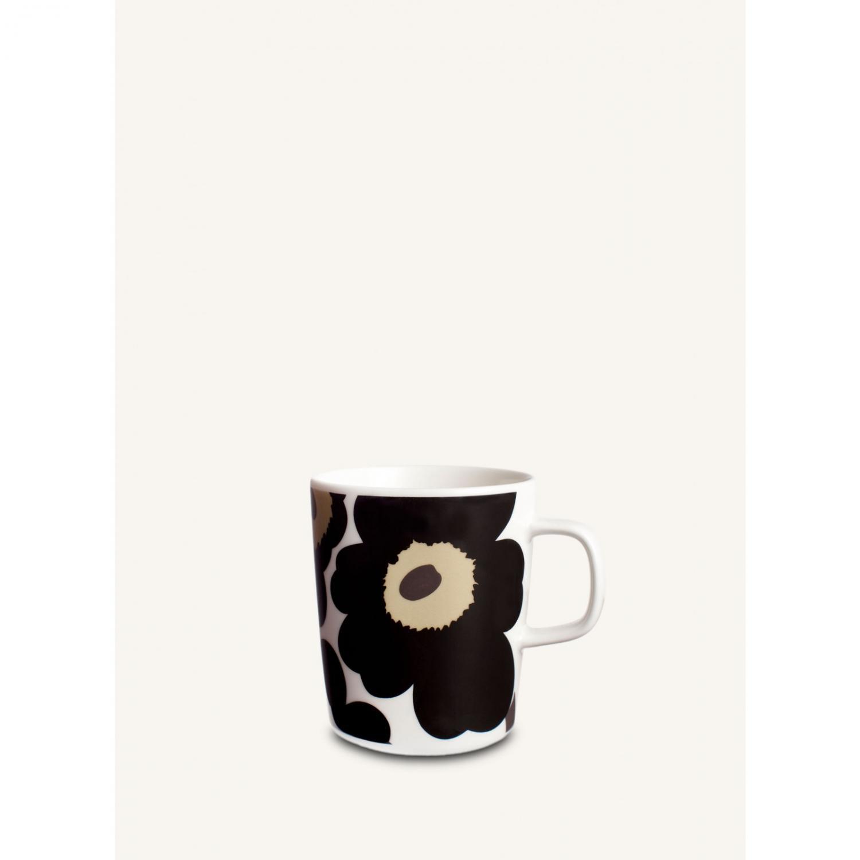 Marimekko unnikko blomma svart