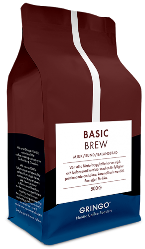 Gringo nordic coffee roasters basic brew