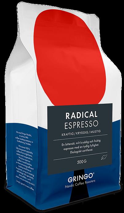 Gringo nordic coffee roasters radical espresso