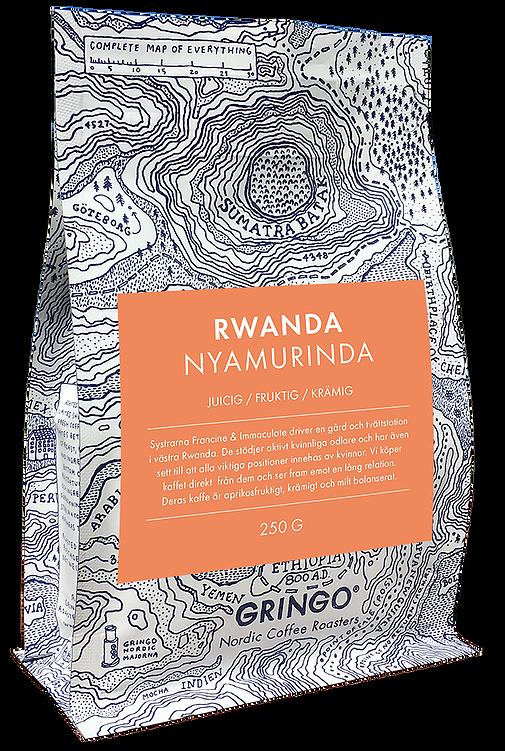Gringo nordic coffee roasters rwanda nyamurinda