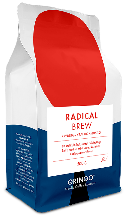 Gringo nordic coffee roasters radical brew