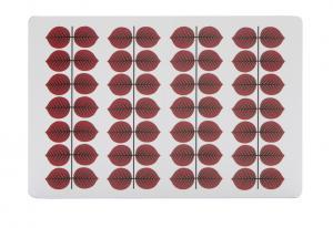 Berså Skärbräda 30x20cm röd