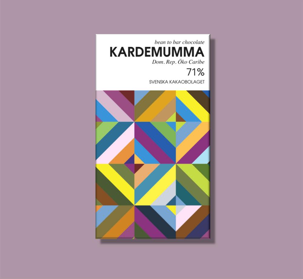 Svenska Kakaobolaget Kardemumma 71% 50g