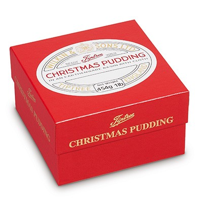 Tiptree Christmas Pudding in basin 454g