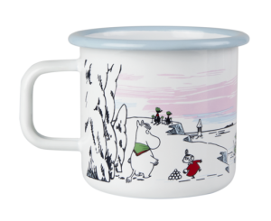 Mumin Emaljmugg 3,7 dl Winter Time