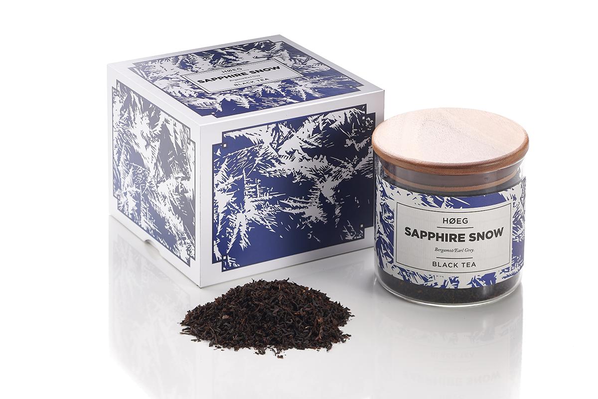 Hoeg Tea Sapphire Snow In Box
