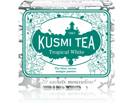 Kusmi White Tropical Tepåsar