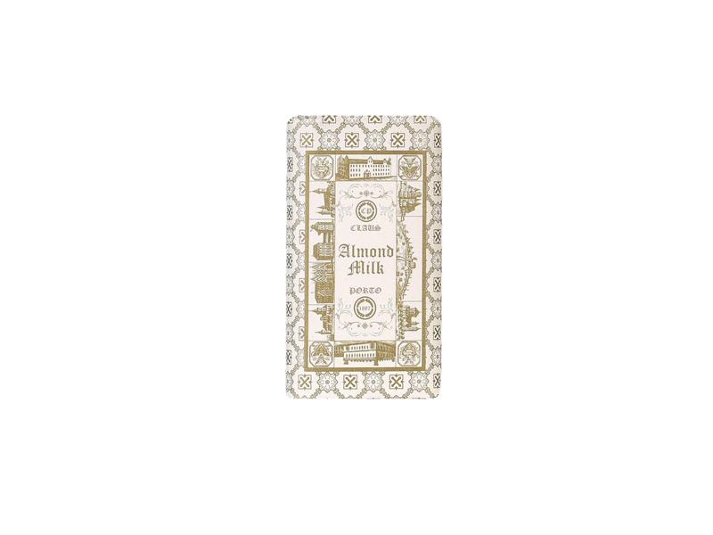 Claus Porto Double Almond Milk Mini Soap Bar 50g