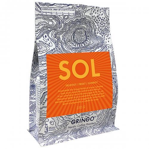Gringo SOL - Sommarkaffe 250g Hela Bönor