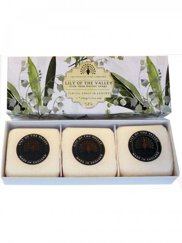 Lily of the Valley Soaps 3x100g