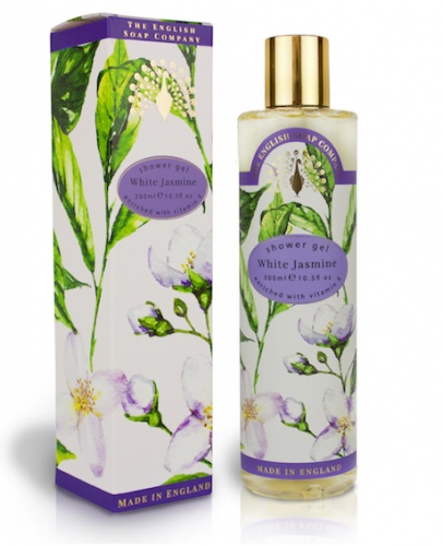 White Jasmine & Sandalwood Shower Gel 300ml