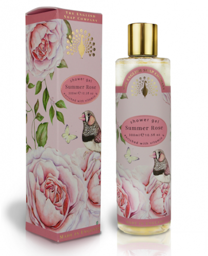 Summer Rose Shower Gel 300ml