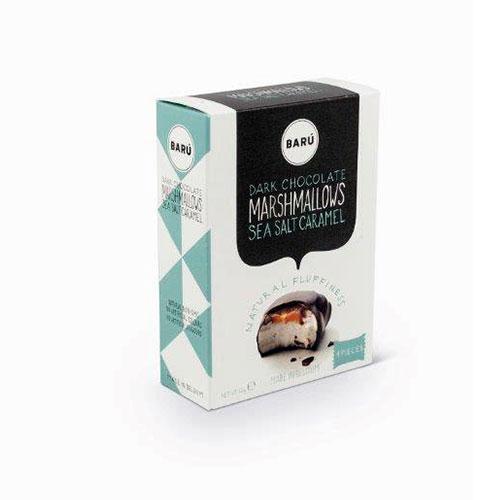 Baru Marshmallows Mörk Choklad 60g Salt/Karamell