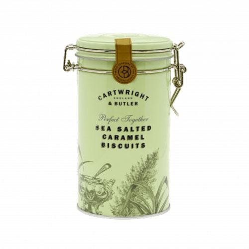 Cartwright & Butler Salted Caramel Biscuits 200g Plåtburk