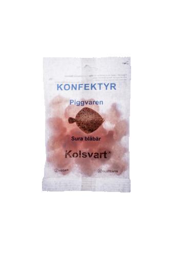 Blåbär Piggvar Kolsvart