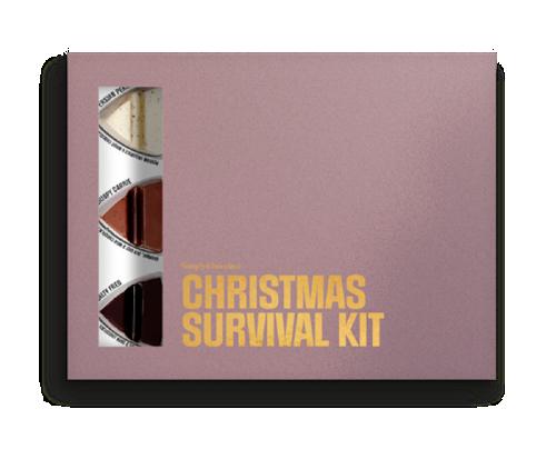 Simply Chocolate Christmas Survial Kit