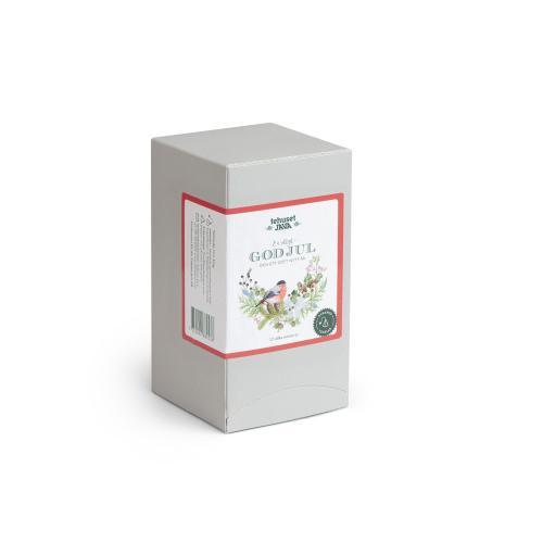 God Jul Domherre Tebox med 12 olika tepåsar