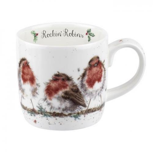 Wrendale Mugg Rockin Robin
