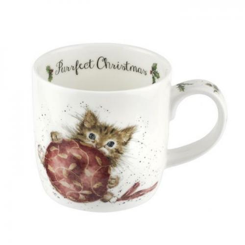 Wrendale Mugg Purrfect Christmas Kitten