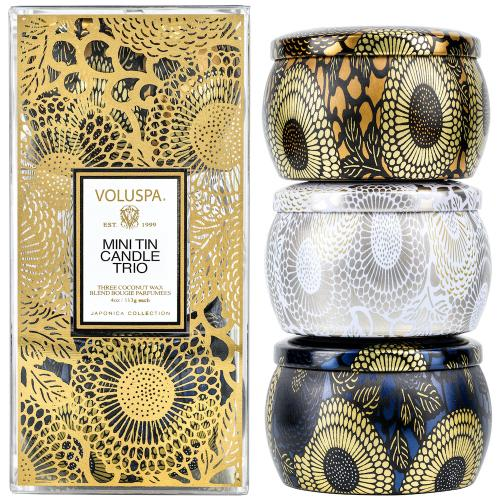 Voluspa Mini Tin Giftset 2020