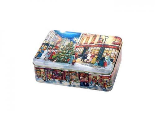 Plåtburk Christmas Shopping