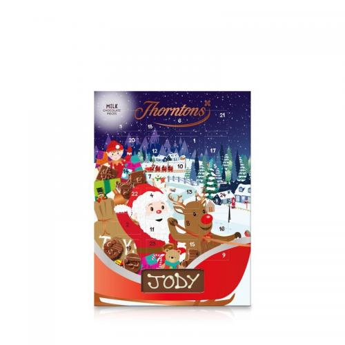 Thorntons Mjölkchokladkalender