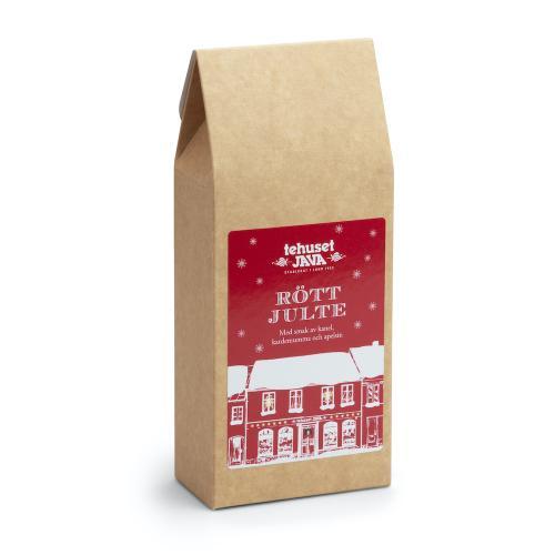 Tehuset Javas Röda Julte Presentförpackat 100g