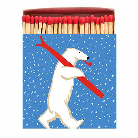 Archivist Tändsticksask Polar Bear