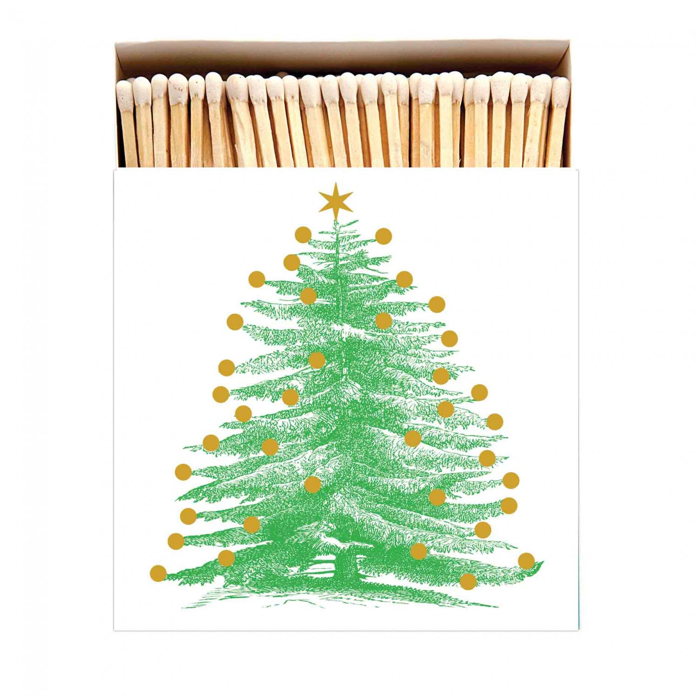Archivist Tändsticksask Christmas Tree