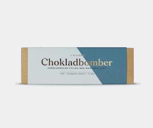 Akripelag Chokladbomber med Marshmellow 3x40g