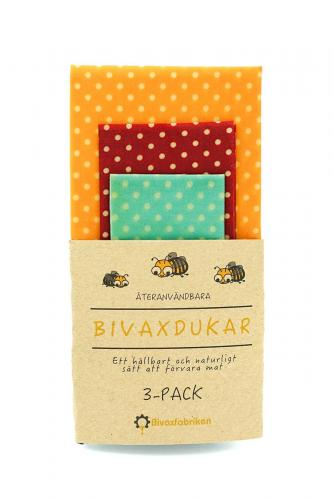 Bivaxdukar Bivaxfabriken 3-pack Prickiga