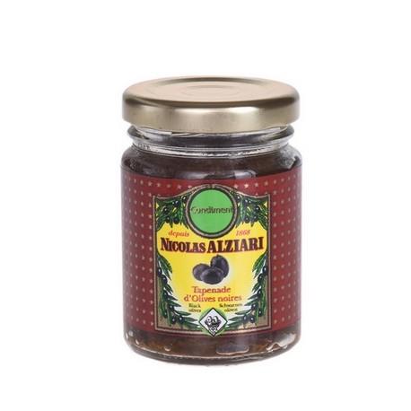 Tapenade Alziari svarta oliver 80g
