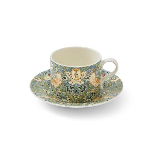 Morris Teacup & Saucer Strawberry Thief 0,28L