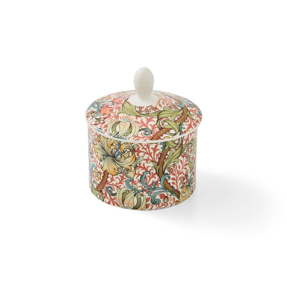 Morris Covered Sugar Bowl Golden Lily 0,2L