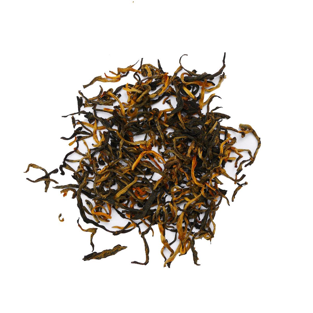 Ekologisk Yunnan Golden Tips Superior Full Leaf lösvikt