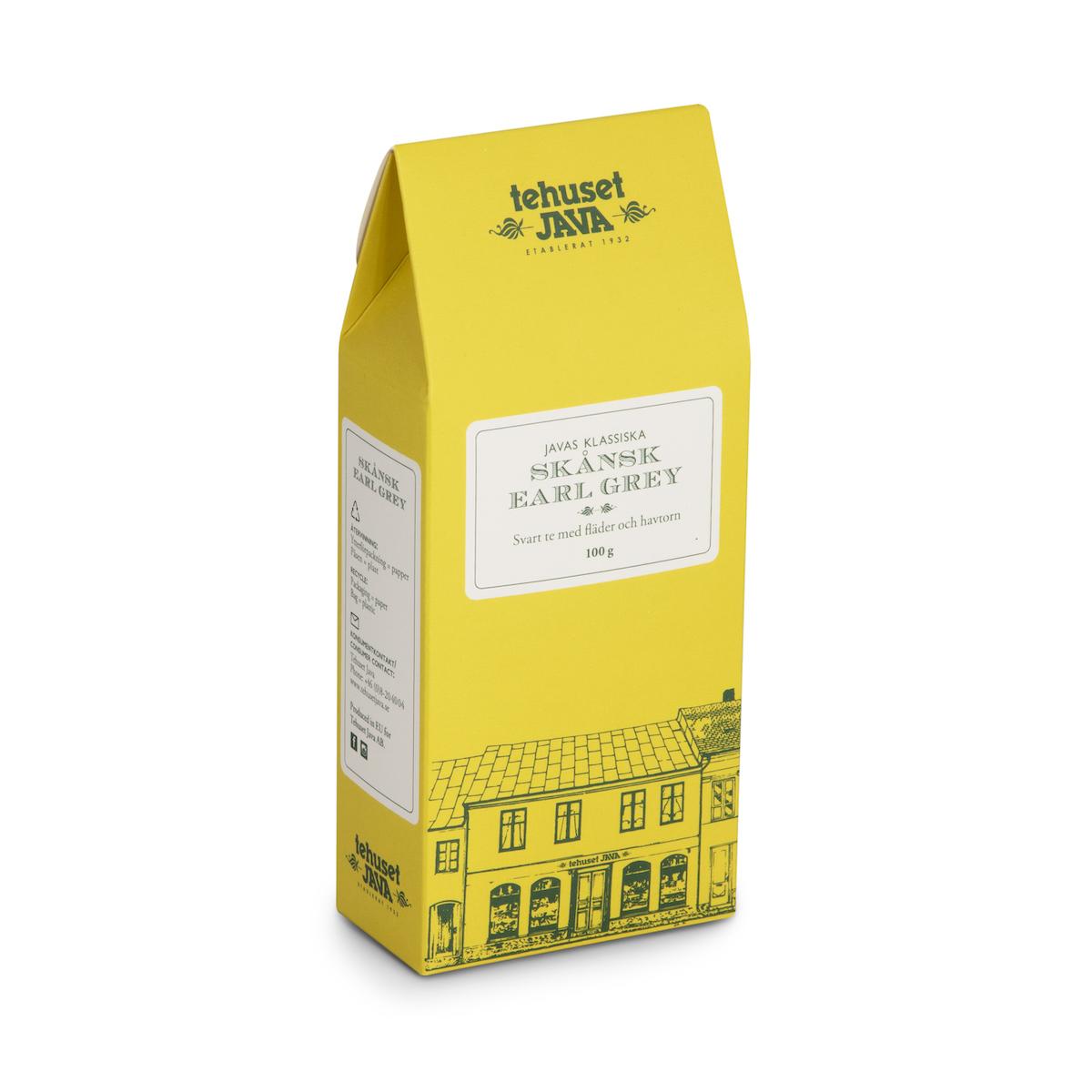 Skånsk Earl Grey Presentförpackad 100g
