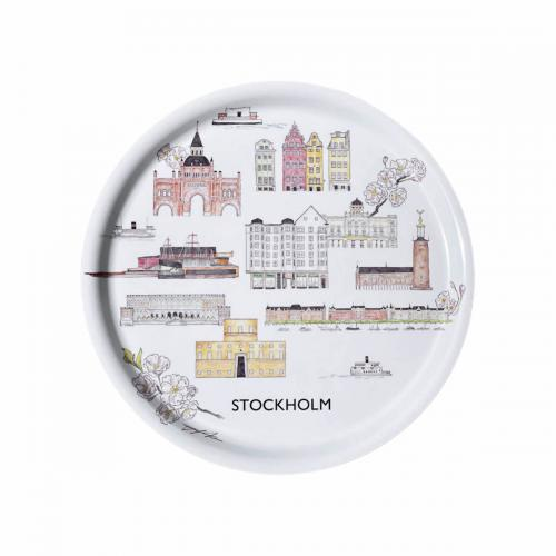 Tehuset Java Stockholm Collection Bricka Rund