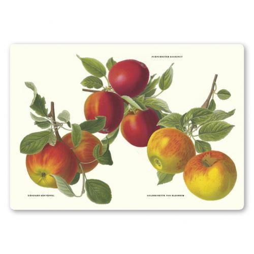 Bordstablett Äpplen